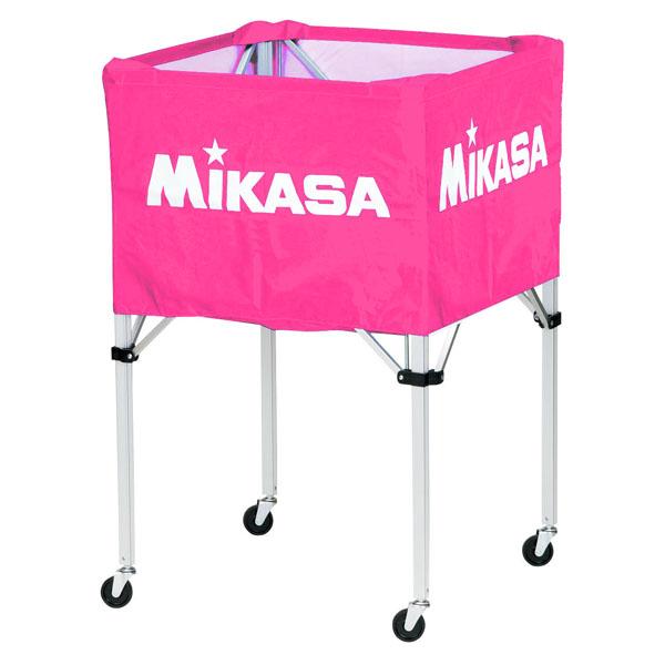 ミカサ(MIKASA) ワンタッチ式ボールカゴ(フレーム・幕体・キャリーケース3点セット) ピンク