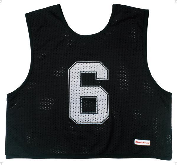 ミカサ(MIKASA) ゲームジャケットハーフタイプ10枚セット ブラック