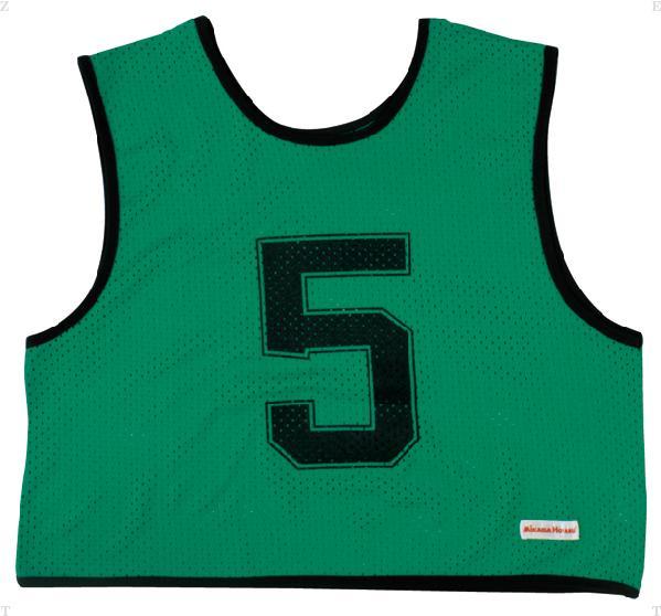 ミカサ(MIKASA) ゲームジャケットハーフタイプ10枚セット グリーン