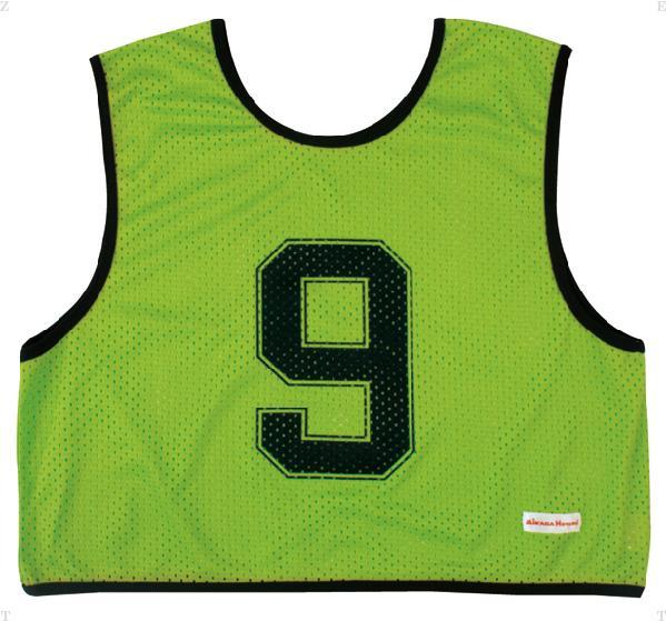 ミカサ(MIKASA) ゲームジャケットハーフタイプ10枚セット 蛍光グリーン