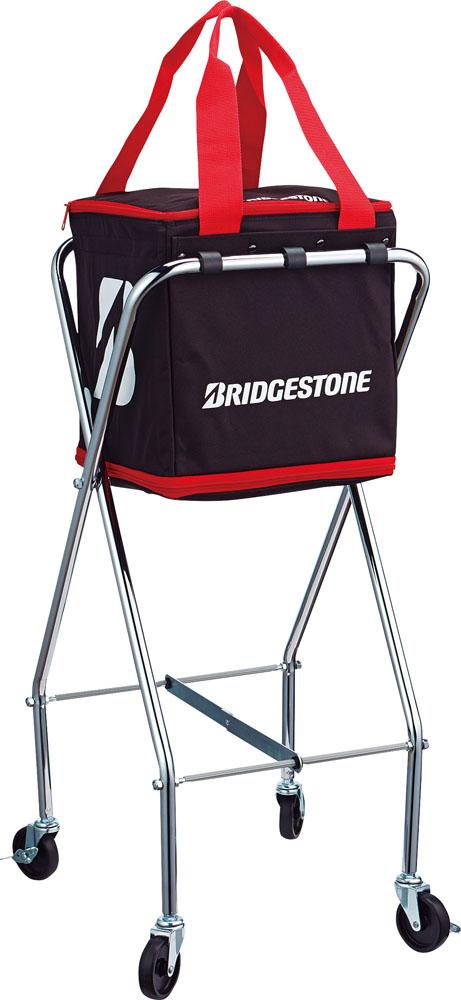 BridgeStone(ブリヂストン) キャスター付ボールバッグ ブラック