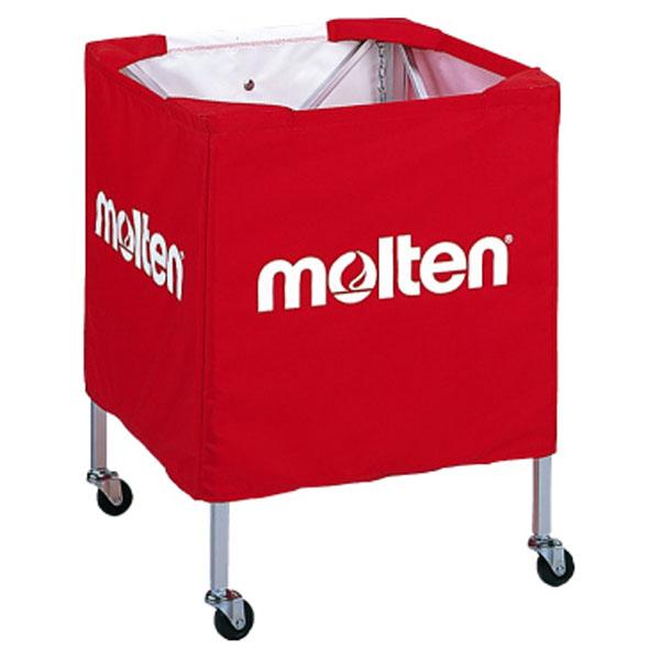 モルテン(Molten) 折りたたみ式ボールカゴ(小) R赤