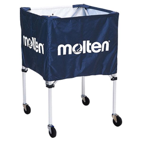 モルテン(Molten) 折りたたみ式ボールカゴ(屋外用)ネイビー