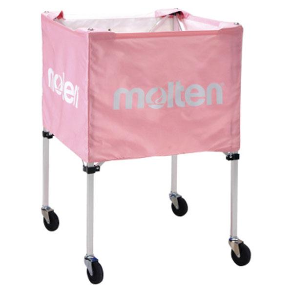 モルテン(Molten) 折りたたみ式ボールカゴ(屋外用)ピンク