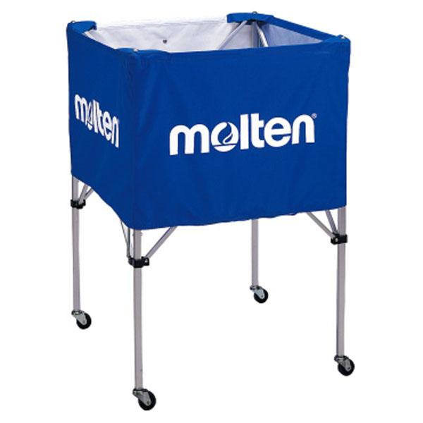モルテン(Molten) 折りたたみ式ボールカゴ(大・背高) B青