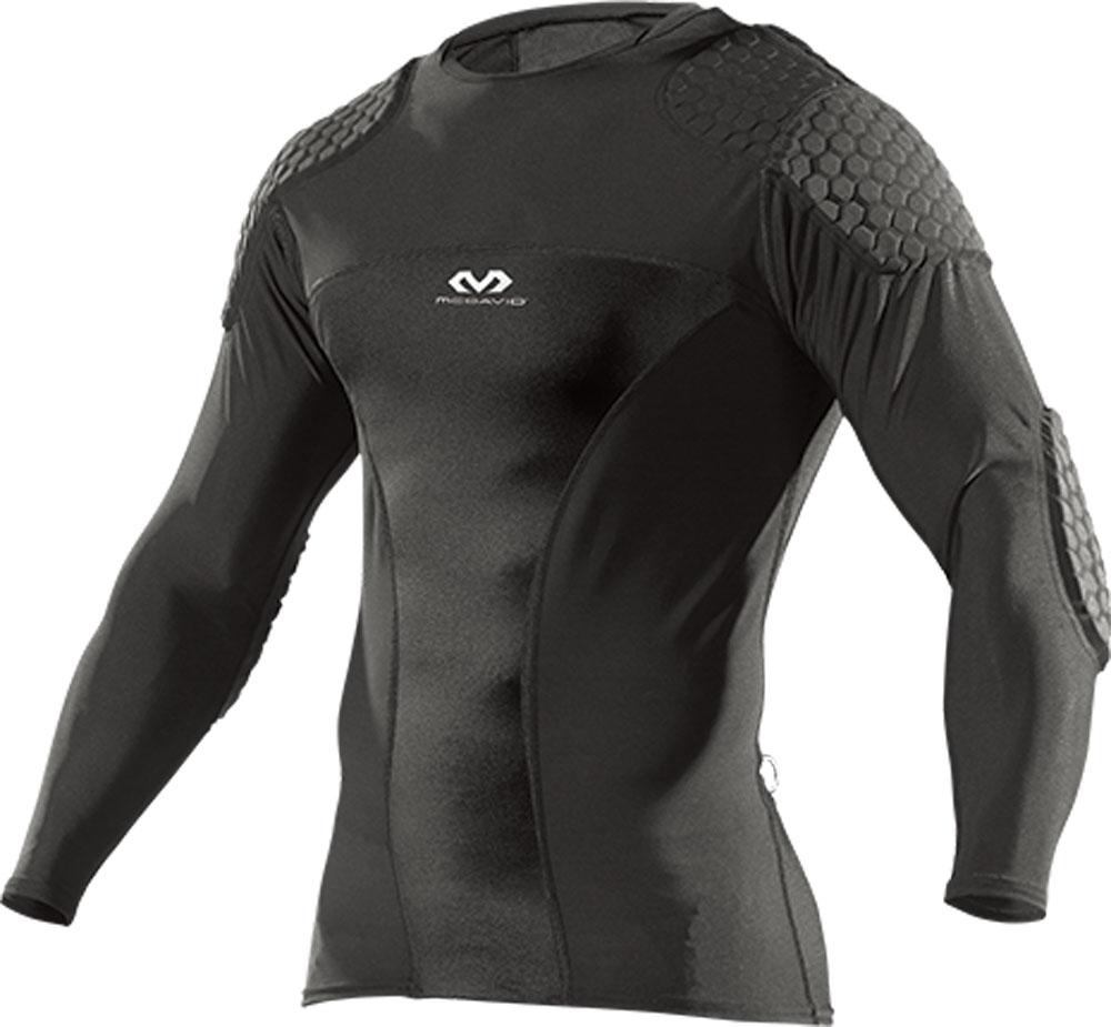 McDavid(マクダビッド) HEX ゴールキーパーシャツ ロング ブラック