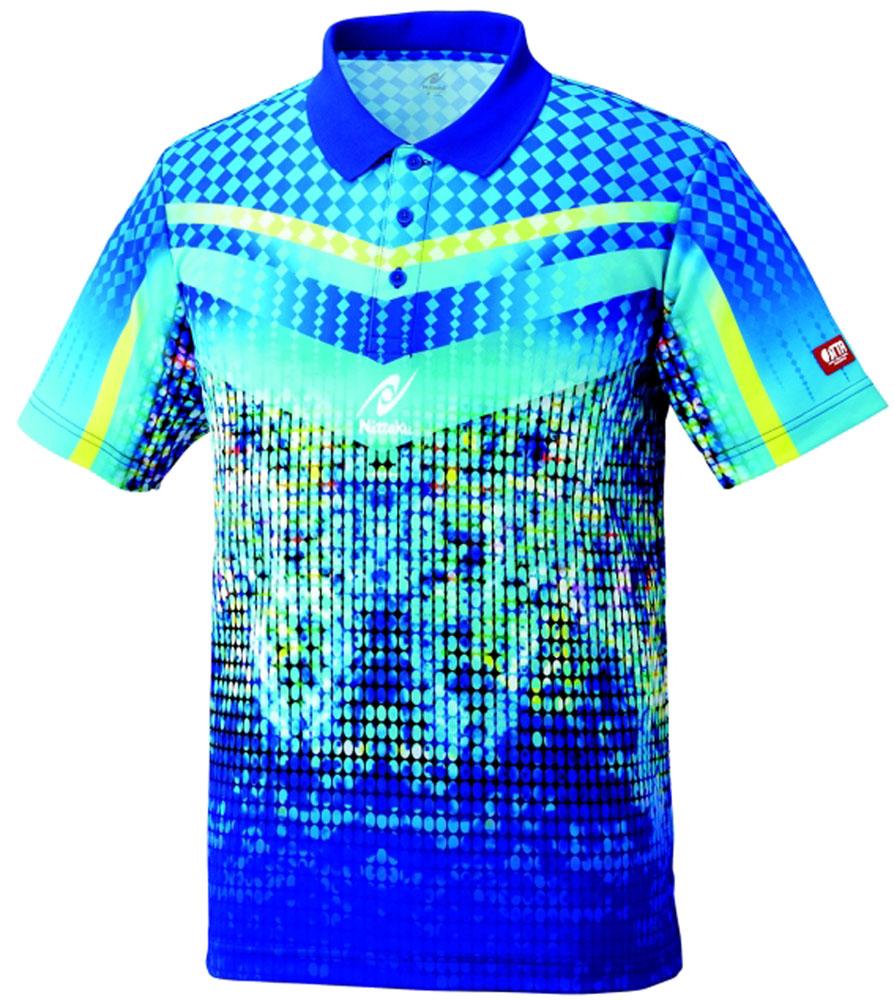 ニッタク(Nittaku) ミラルーシャツ ブルー
