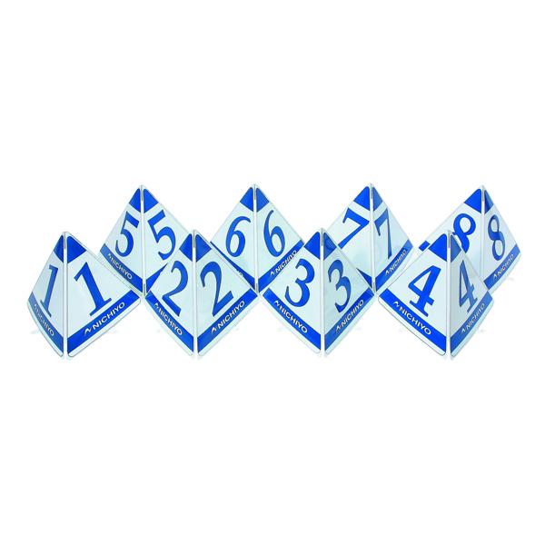 ニチヨー(NICHIYO) スタート表示板(大型三角タイプ)ブルー