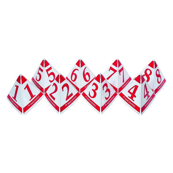 ニチヨー(NICHIYO) スタート表示板(大型三角タイプ)レッド