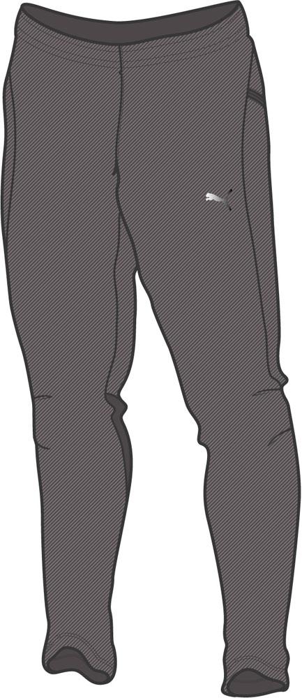 PUMA(プーマ) メンズ サッカー・フットサルウェア LIGA サイドライン ウーブンパンツ 11ASPHALT-PU