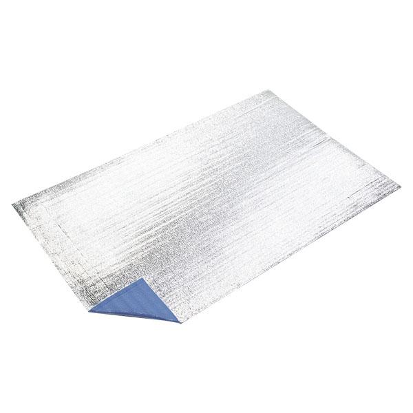 CAPTAIN STAG(キャプテンスタッグ) シルバーキャンピングマット200×120cm(ブルー)