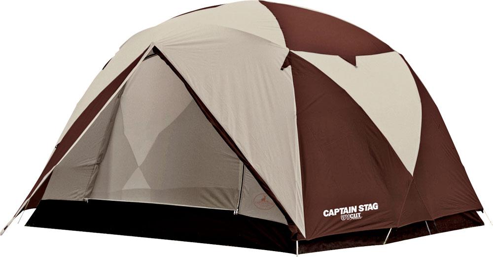 CAPTAIN STAG(キャプテンスタッグ) エクスギア アルミファミリージオドーム6UV(キャリーバッグ付)