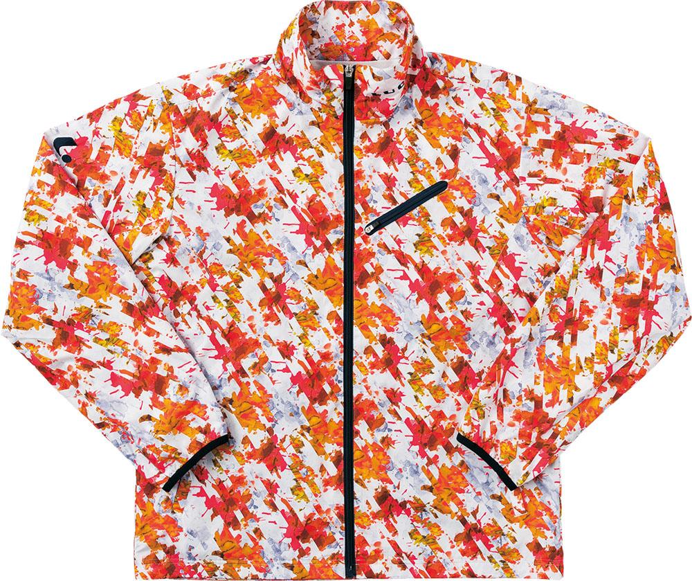 LUCENT(ルーセント) ユニセックス ウインドウォーマーシャツ オレンジ