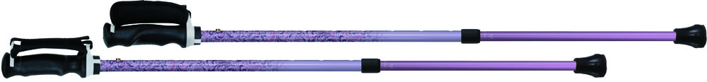 SINANO(シナノ) もっと安心2本杖 ヴィクトリアンパープル