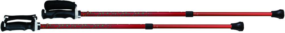 SINANO(シナノ) もっと安心2本杖パンサー レッド 125538