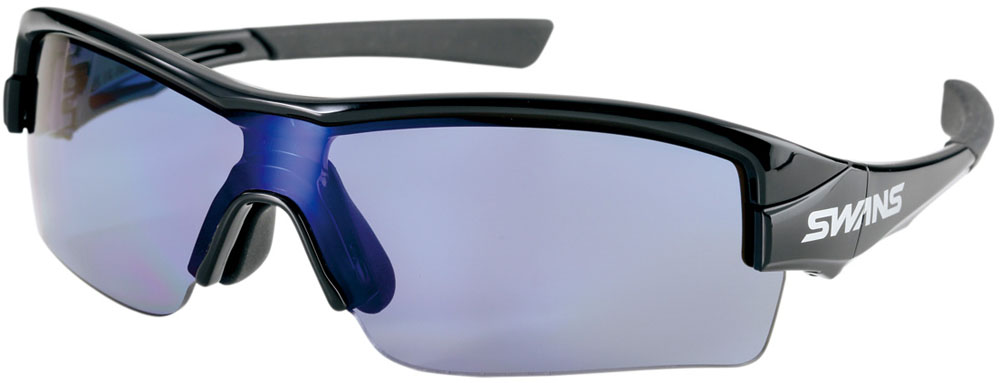 SWANS(スワンズ) STRIX・H (偏光レンズ) ブラック×アイスブルー BK