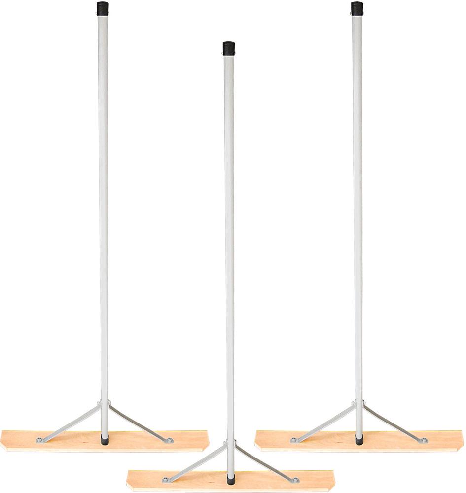 Unix(ユニックス) 【野球・ソフトボール用グラウンド整備品】 木製レーキ プレート80cm幅 3本セット