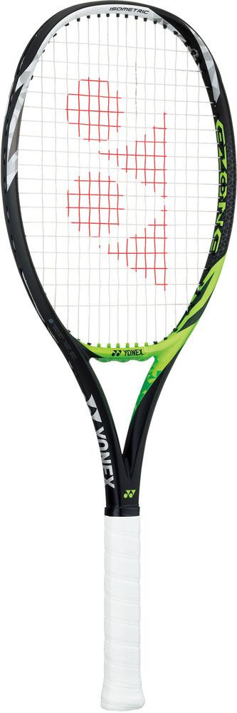Yonex(ヨネックス) (硬式テニス用ラケット(フレームのみ)) Eゾーン フィール(SONY製スマートテニスセンサー対応) ライムグリーン