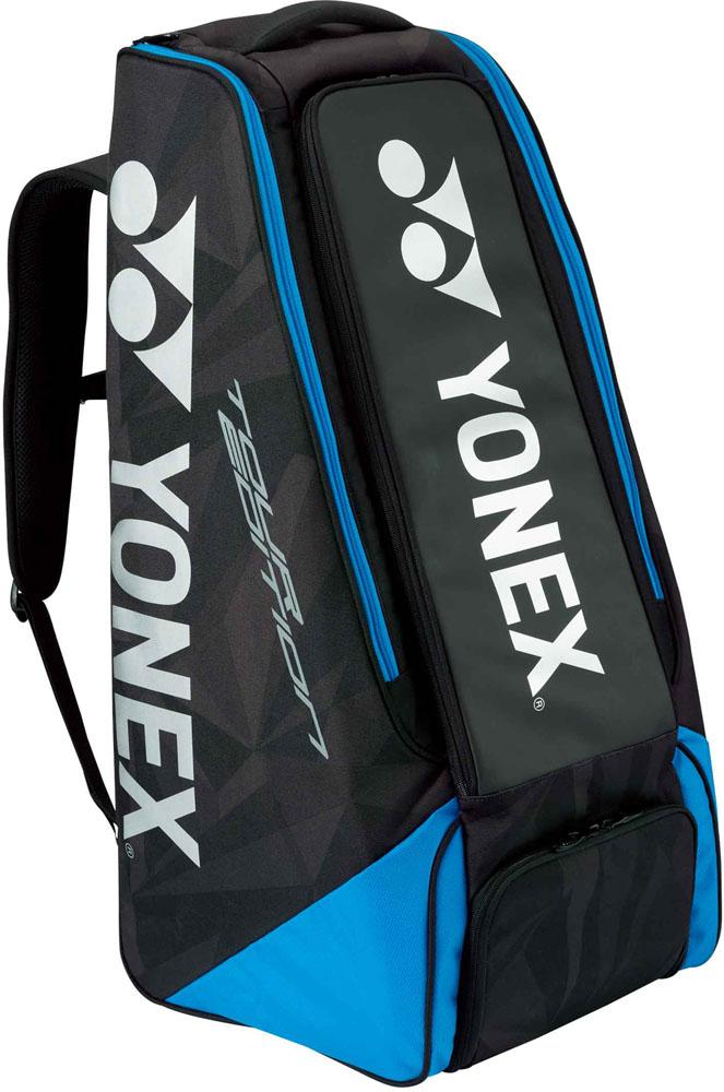 Yonex(ヨネックス) スタンドバッグ ラケット2本収納 ブラック/ブルー