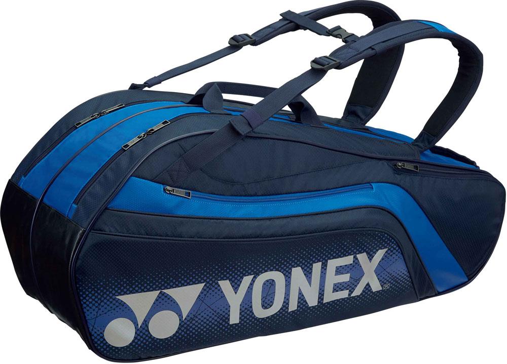 Yonex(ヨネックス) (テニス用ラケットバッグ) TOURNAMENT SERIES ラケットバック6 リュック付き(ラケット6本用) ネイビーブルー