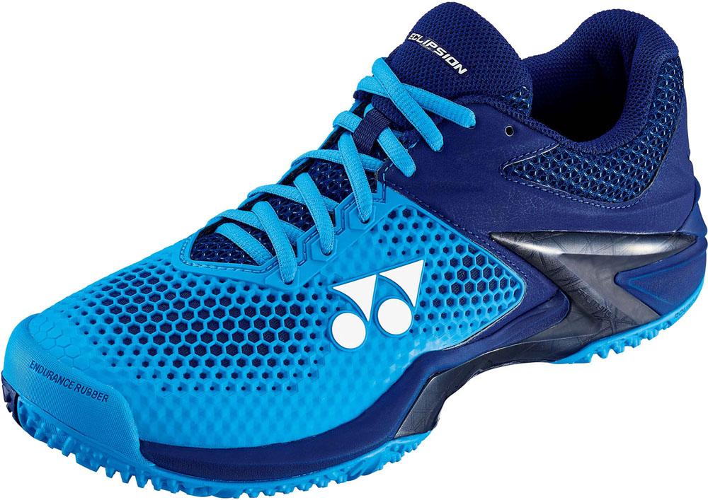 Yonex(ヨネックス) (メンズ クレー/砂入り人工芝コート用テニスシューズ) パワークッションエクリプション 2 M GC ブルー/ネイビー