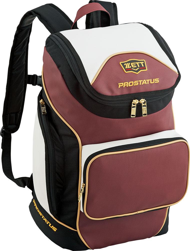 ZETT(ゼット) 【野球・ソフトボール用バッグ】 プロステイタス デイパック エンジII/ホワイト