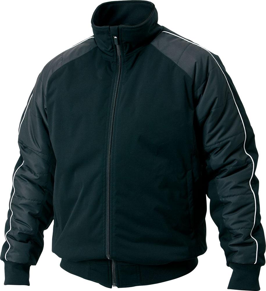 ZETT(ゼット) (男女兼用 野球・ソフトボール用ウェア) グラウンドコート ブラック