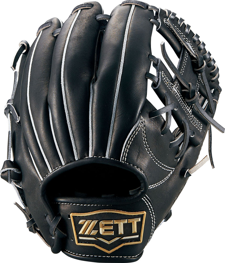 ZETT(ゼット) 少年硬式グラブ ネオステイタス オールラウンド用 ブラック