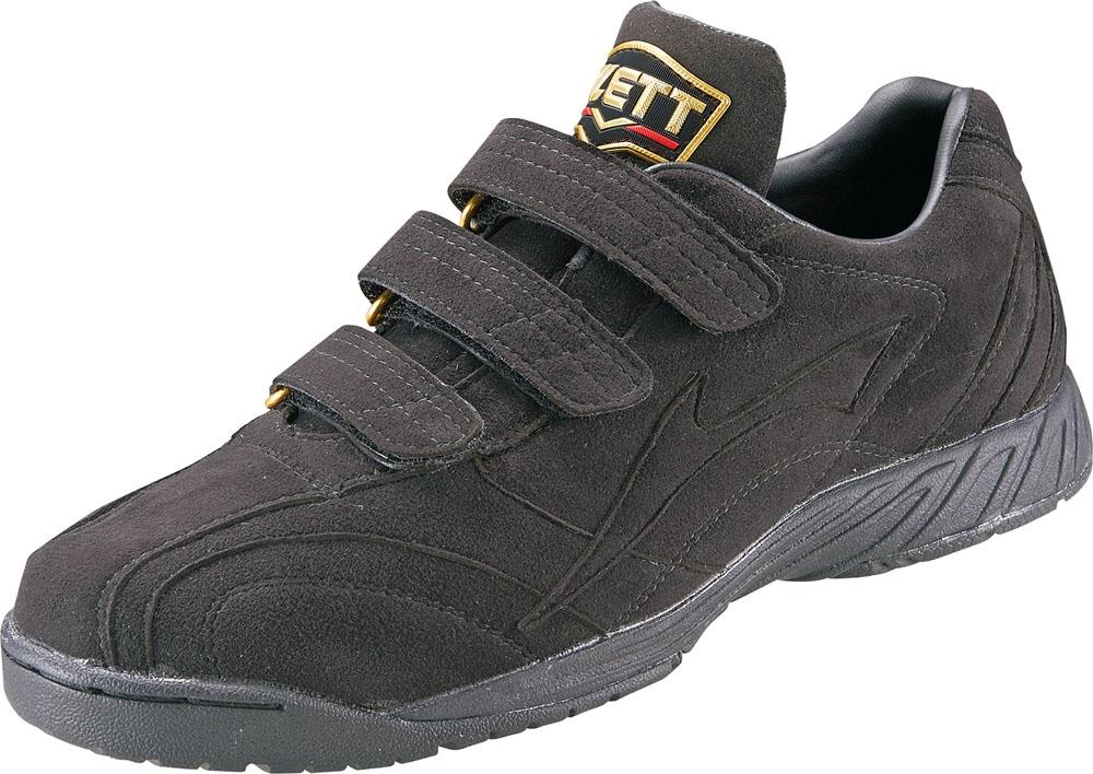 ZETT(ゼット) 【野球・ソフトボール用 トレーニングシューズ】 プロステイタス ブラック/ブラック