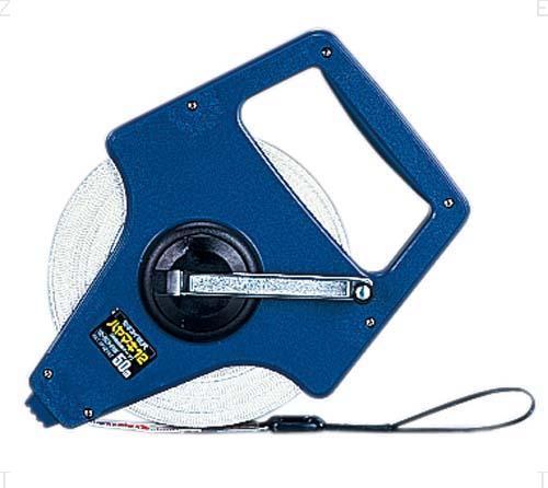 ゼット体育器具 ガラス繊維製エスロン巻尺 ハヤマキ12mm巾タイプ(長さ100m)