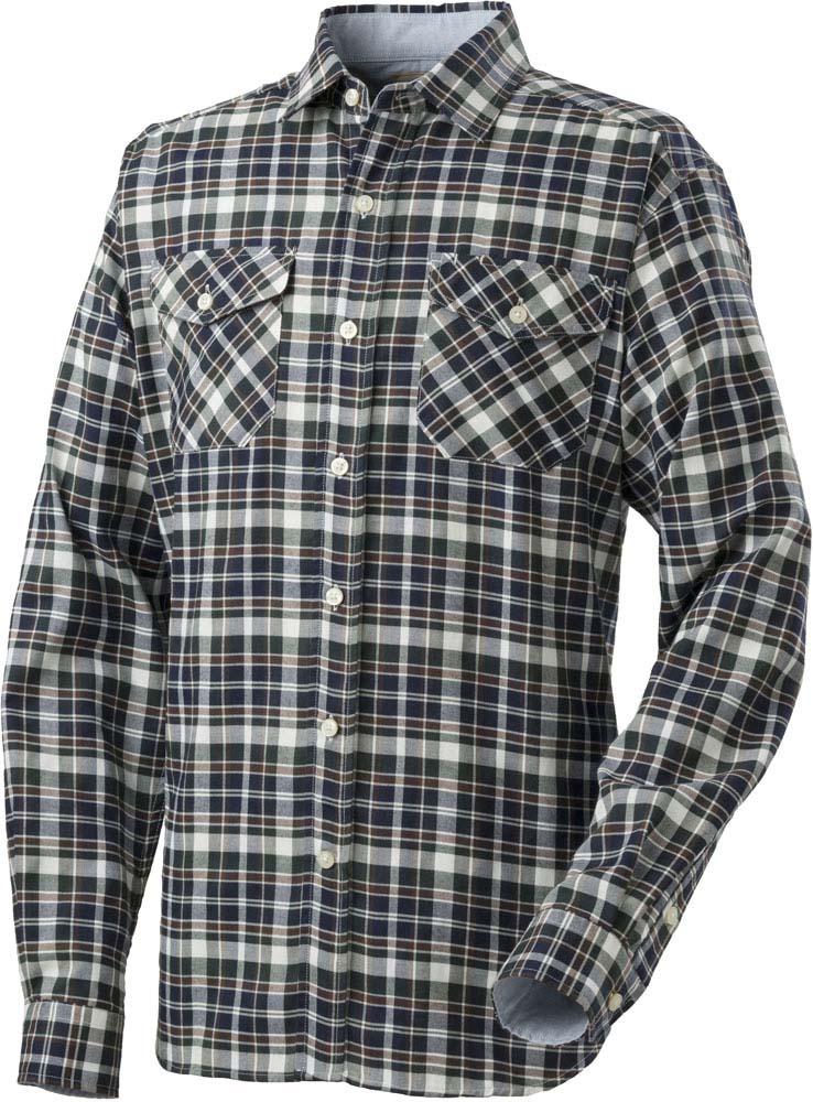 キャラバン(CARAVAN) 山晴社 マスターツイルシャツ (メンズ) 550グリーン