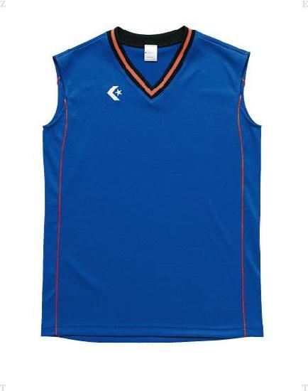 2020年2月度月間優良ショップ受賞 CONVERSE コンバース ウィメンズゲームシャツCB36712 卸直営 オレンジ 新作製品 世界最高品質人気 Rブルー