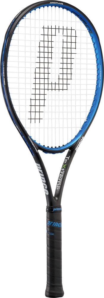 Prince(プリンス) 【硬式テニスラケット】 ハリアープロ100XR-M(フレームのみ)ブラック×ブルー