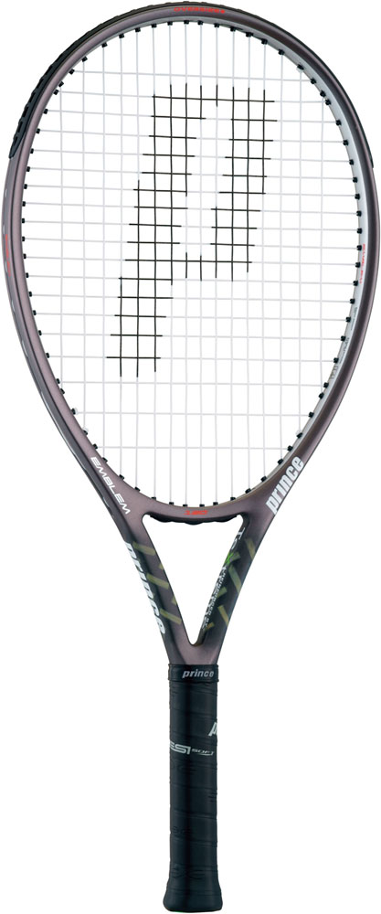 Prince(プリンス) (硬式用テニスラケット(フレームのみ)) エンブレム 120 ガンメタリック×シルバー