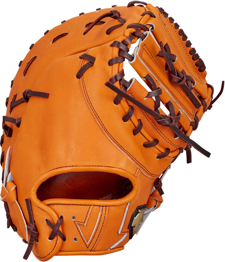 デサント(DESCENTE) 硬式野球用グラブ ファーストミット 一塁手用 オレンジ