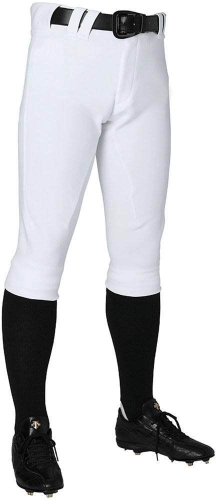 デサント(DESCENTE) メンズ 野球・ソフトボールウェア ショートフィットパンツ Sホワイト
