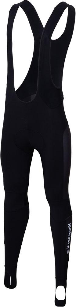 le coq sportif(ルコック) (メンズ サイクルタイツ) テンペストビブタイツ ブラック