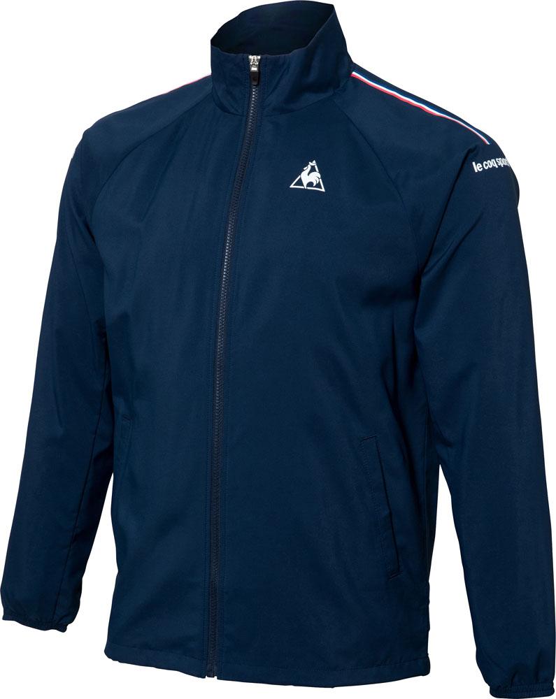 le coq sportif(ルコック) メンズ テニスウェア ウィンドジャケット(裏メッシュ) ネイビー