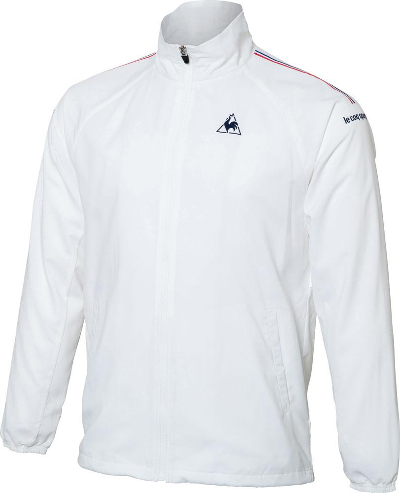 le coq sportif(ルコック) メンズ テニスウェア ウィンドジャケット(裏メッシュ) ホワイト