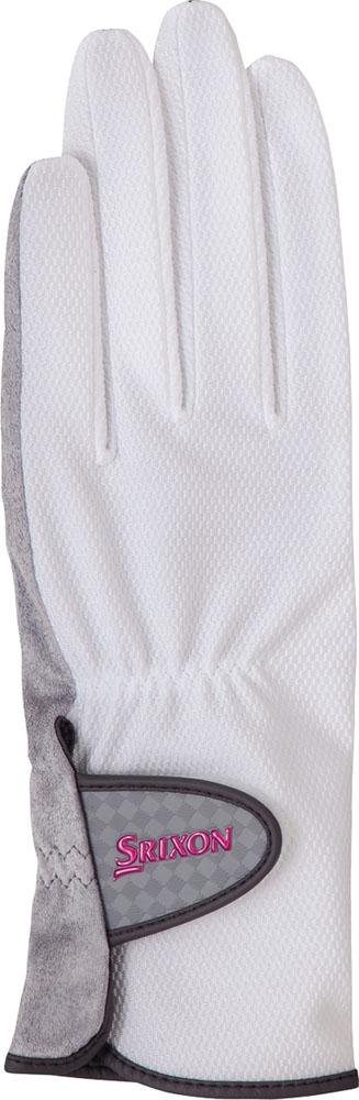 SRIXON(スリクソン) 【レディース テニス用手袋】 テニスグローブ 両手セット レディス ホワイト