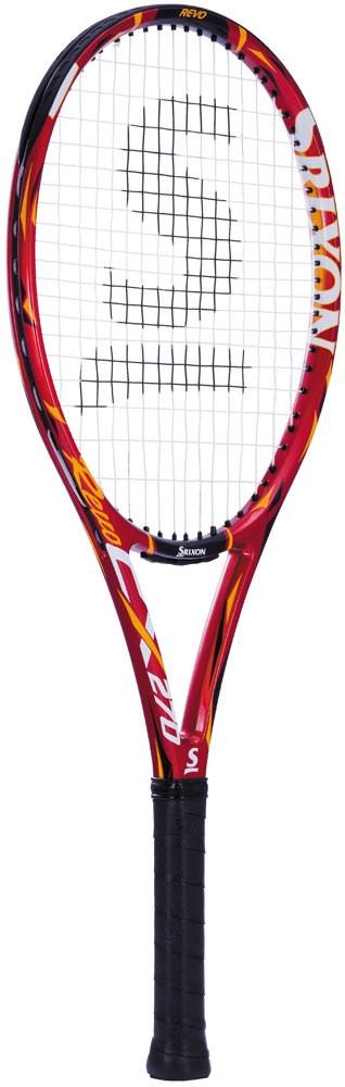 SRIXON(スリクソン) ジュニア 硬式テニスラケット レヴォCX270(張上げ) レツド