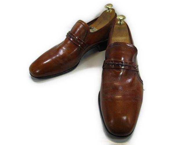 【中古】【送料無料】K SHOES ケーシューズ 41( 約26.0-26.5cm) スリッポン♪YALAKU-ヤラク-メンズビジネスシューズ・紳士靴