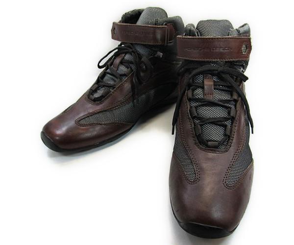 【中古】【送料無料】PORSCHE DESIGN 7( 約25.0-25.5cm) イタリア製 編上げショートブーツ♪YALAKU-ヤラク-メンズカジュアルブーツ・紳士靴