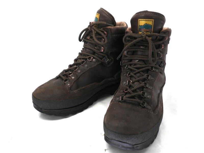 【中古】【送料無料】MEINDEL マインドル 7 1/2 約25.5-26.0cm ビブラムソール・マウンテンブーツ♪YALAKU-ヤラク-メンズブーツ・紳士靴