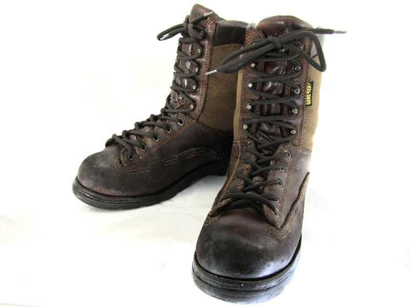 【中古】【送料無料】DANNER ダナー10 約27.5-28.0cm 編上げブーツ♪YALAKU-ヤラク-メンズカジュアルブーツ・紳士靴