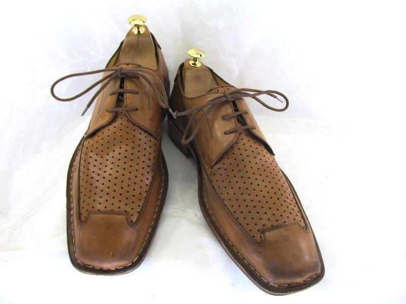 【中古】【送料無料】TAURUS 42 (約26.0~26.5cm) Uチップ♪YALAKU-ヤラク-メンズブーツ 紳士靴