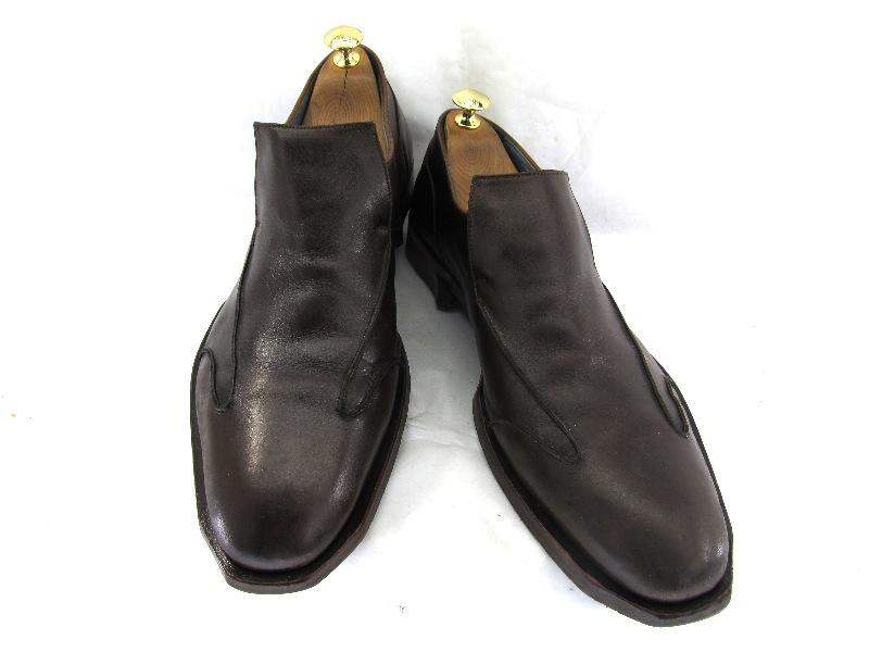 【中古】【送料無料】Oliver Sweeney オリバースウィー二 8 1/2 (約26.5~27.0cm)イギリス スリッポン♪YALAKU -ヤラク-メンズビジネスシューズ・紳士靴