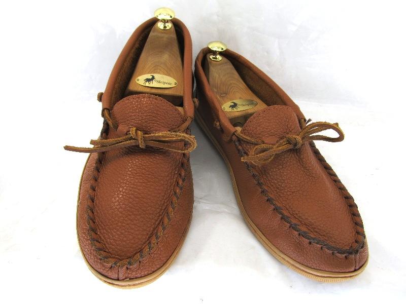 【中古】【送料無料】Laurertion Chief<BR> 10 (約28.0-28.5cm)カナダ製 ハンドメイド デッキシューズ スリッポン♪<BR>YALAKU-ヤラク-<BR>メンズカジュアルシューズ・紳士靴