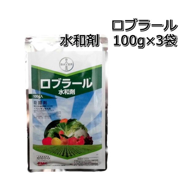 贈り物 ロブラール水和剤100g×3袋殺菌剤 ついに入荷