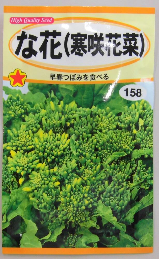 野菜種 な花種早春つぼみを食べる寒咲花菜 トーホク 新作 年間定番